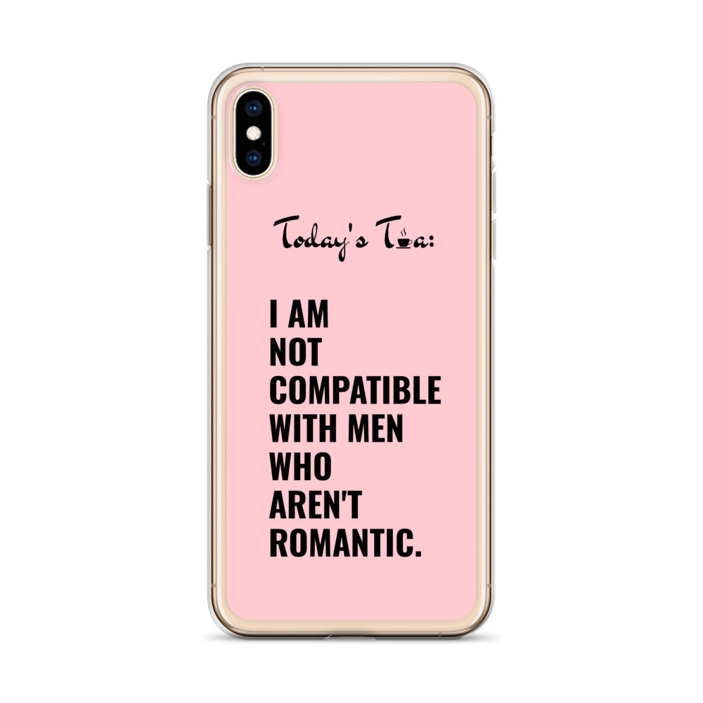 NOT COMPATIBLE TEA: Pink iPhone Case
