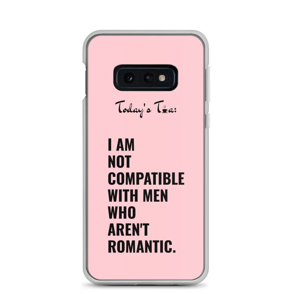NOT COMPATIBLE TEA: Pink Samsung