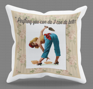 Pin Up Girl Cushions - Choice of 20 Designs!