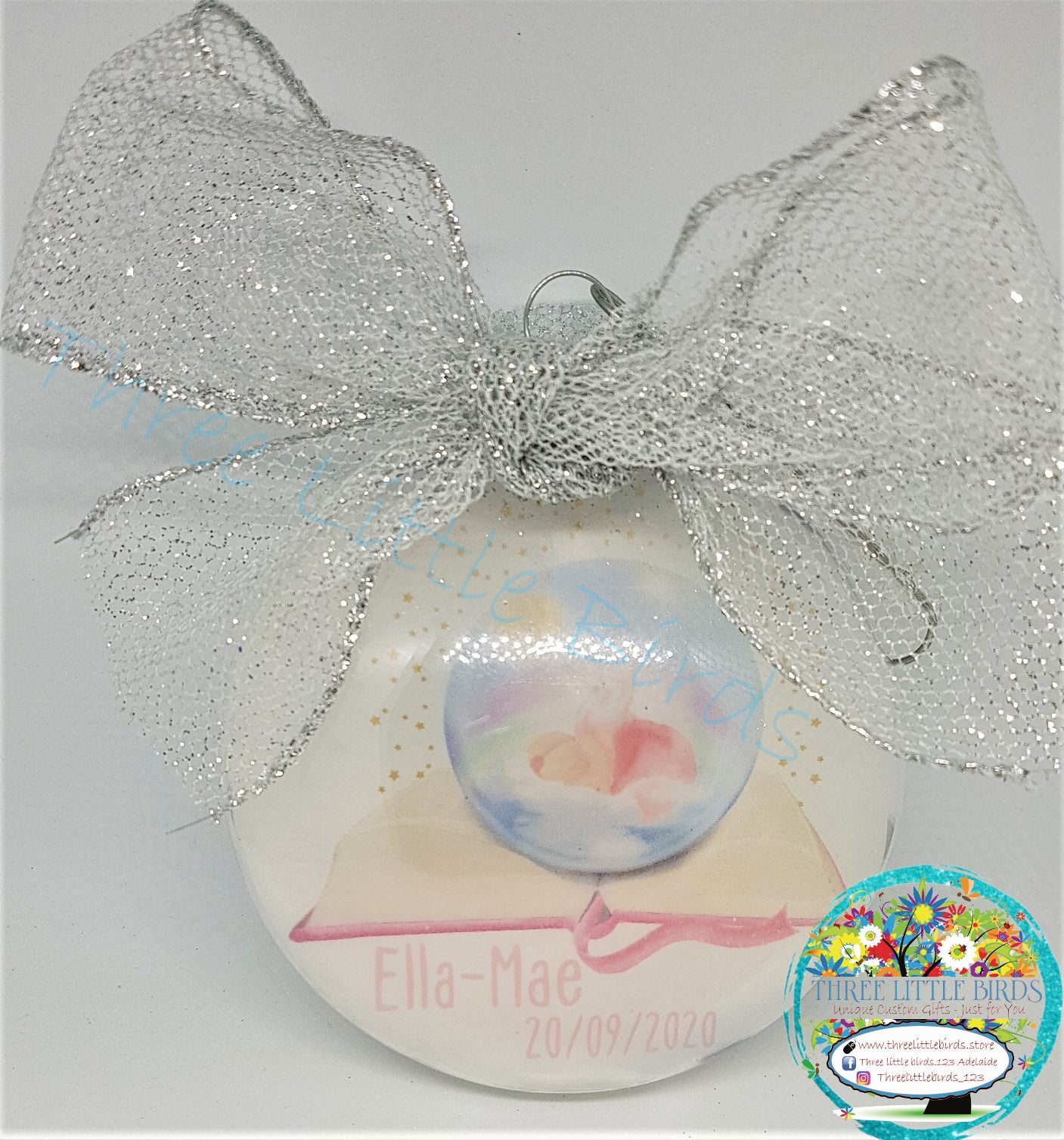 Baby & Infant Loss Memorial Tree Bauble