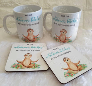 Matching Mug and Coaster Sets - Any Design available!