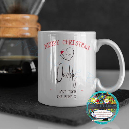 Merry Christmas - Love From The Bump Mug
