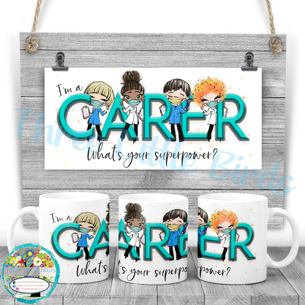 Carer Superpower Mug