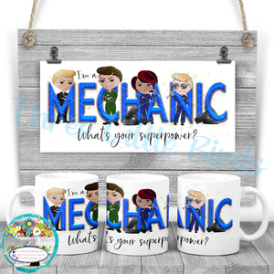 Mechanic Superpower Mug