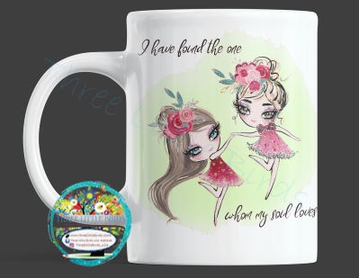 I Have Found The One Whom My Soul Loves - Mug