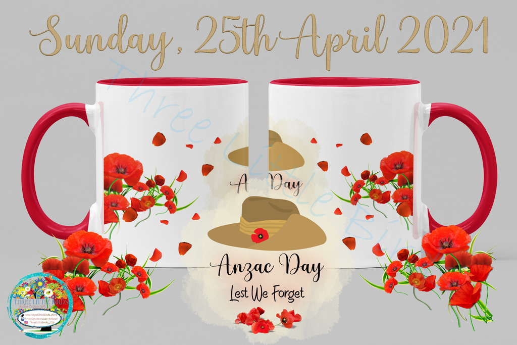 Anzac Day - Lest We Forget - Mug