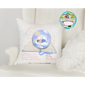Baby Boy Remembrance Book Design - Cushion