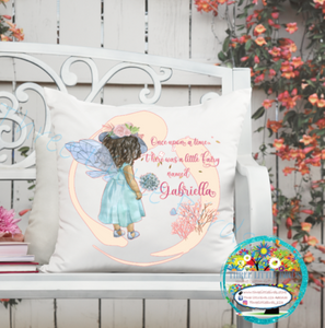 Once Upon A Time Fairy Cushion - Choice of 6 Designs