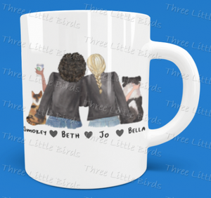 Best Friends and Pets Mug - Create Your Own Best Friends and Pets Mug!