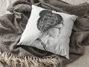 Book Head  - Cushion