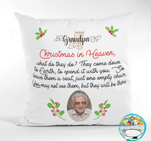 Christmas in Heaven Cushion