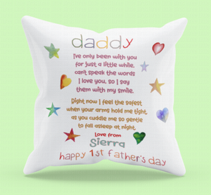 1st Father's Day Cushion