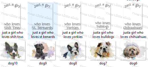 Just A Girl Who Loves .... (Many Dog & Cat Varieties Available!) - Mug