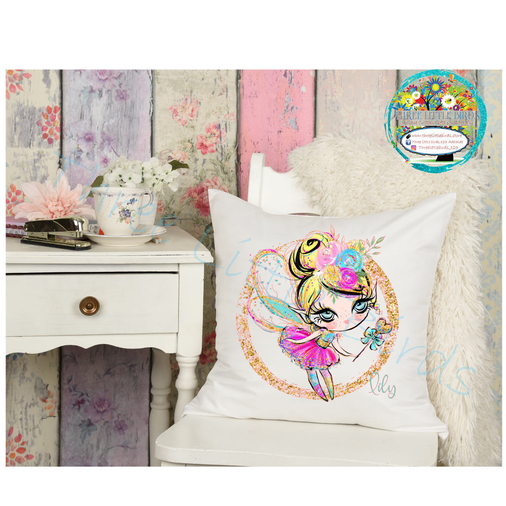 Cute Sparkly Fairy Cushion