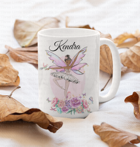 Personalised Ballet Fairy Mug