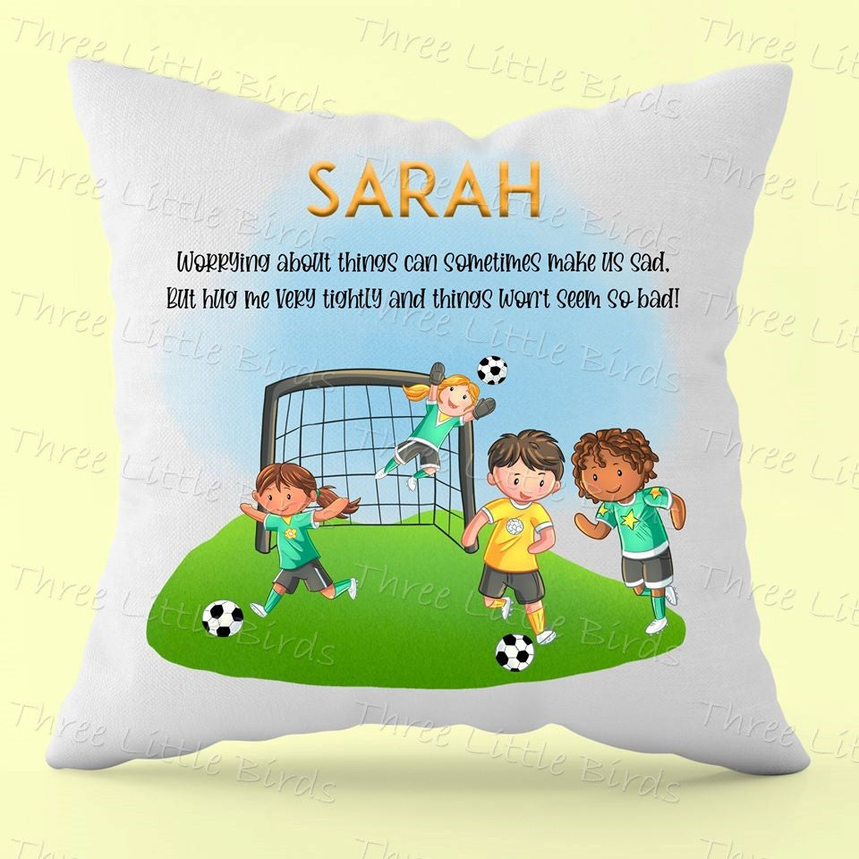 Worry Cushion  - Boy or Girl - Many Variations Available!