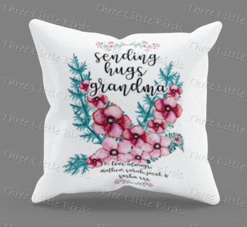 Sending Hugs Cushion
