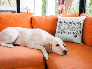 No Humans Allowed - Cushion