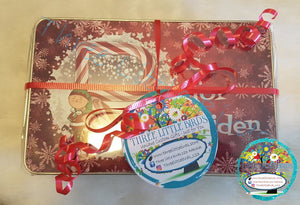 Personalised Christmas Jigsaw with Matching Storage Tin - A4 or A3 Sizes Available