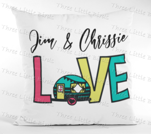 Caravan Love Cushion
