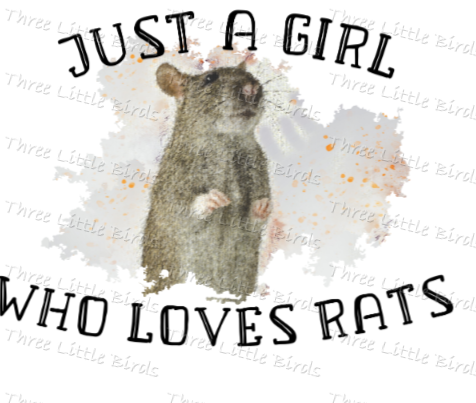 Just a Girl Who Loves ....... (Many Dog & Cat Varieties Available!) - Cushion