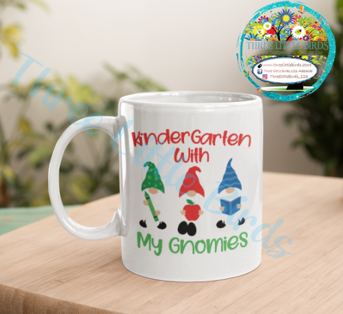 Kindergarten With My Gnomies Mug