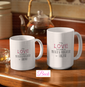 Mother/Grandmother - Daughter/Granddaughter Mug Set