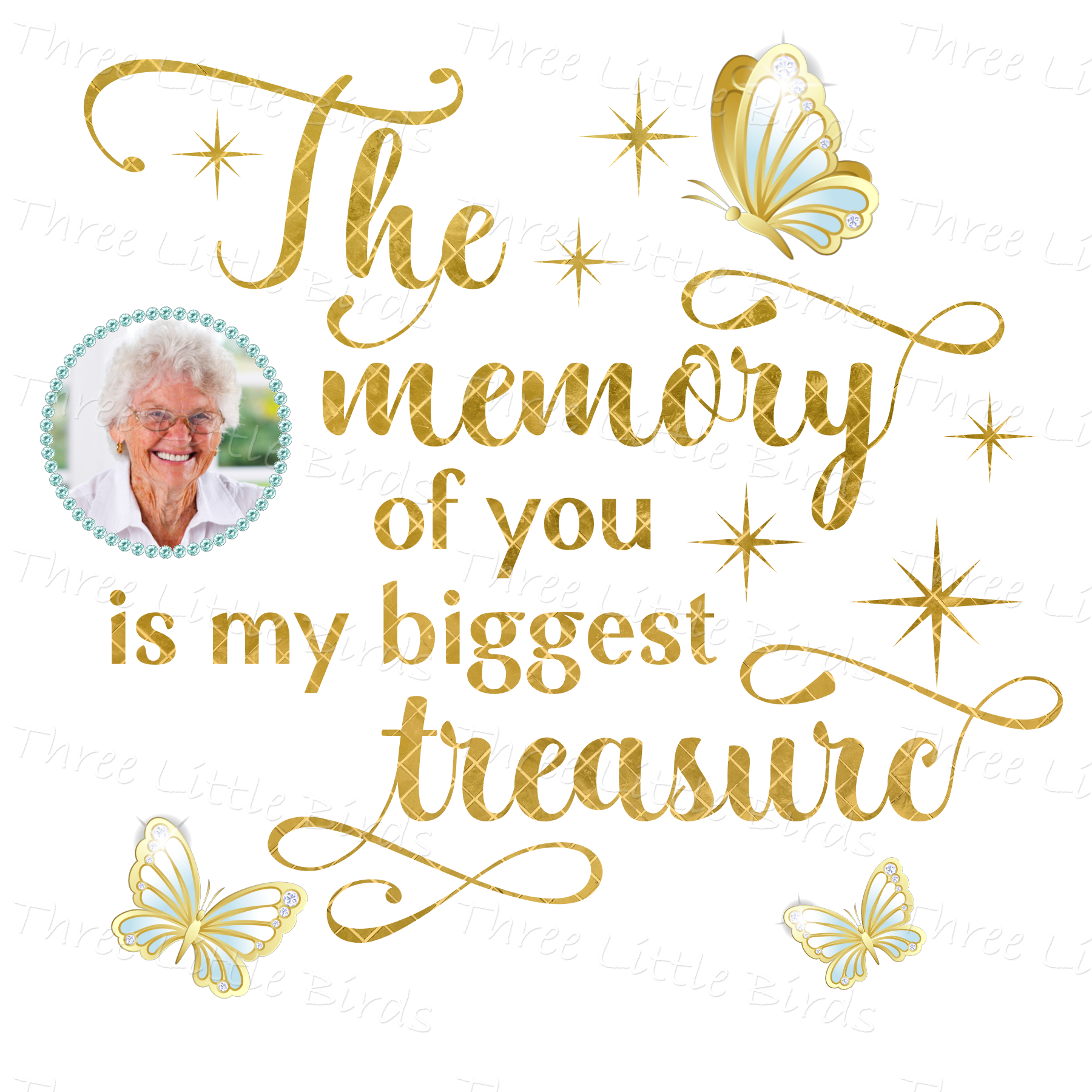 The Memory of you is My Biggest Treasure Cushion
