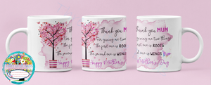 Thank You For Two Things - Mother's Day Mug