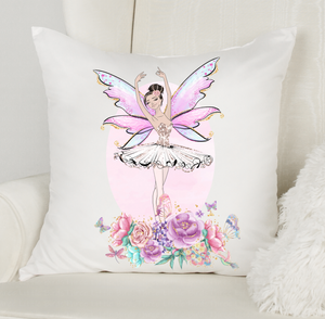 Personalised Ballet Fairy Cushion