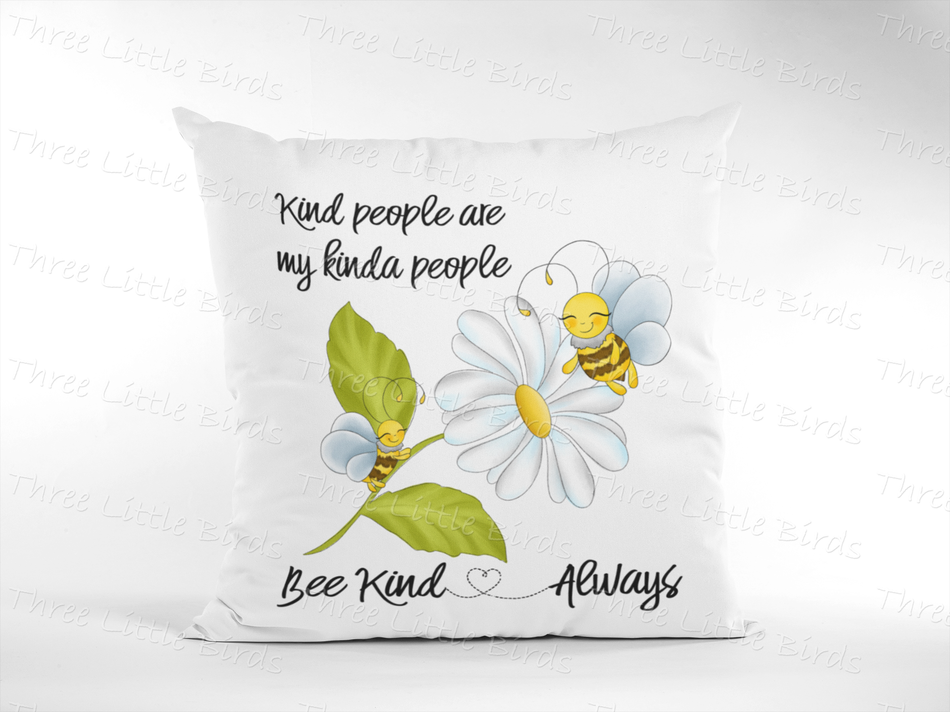 My Kinda People - Bee Kind Cushion