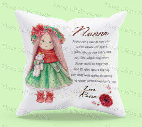 Miss You Cushion - Many Variations Available