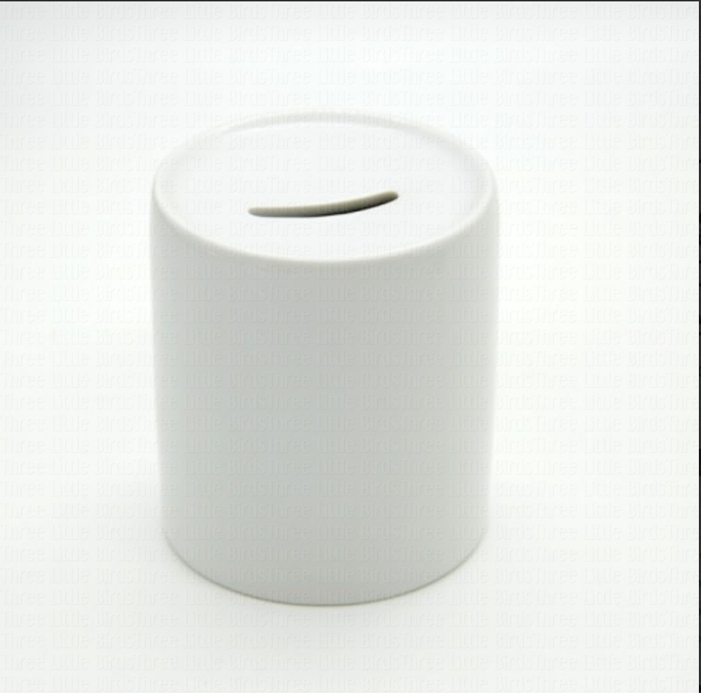 Ceramic Money Box  - Any image/phrase can be added