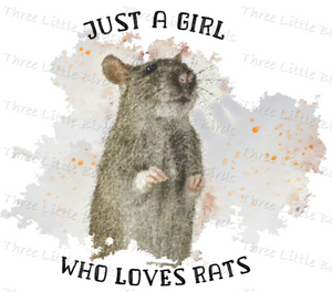 Just a girl who loves Rats - Mug