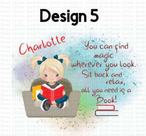 Reading Girls - Cushion - 6 Designs to choose from!
