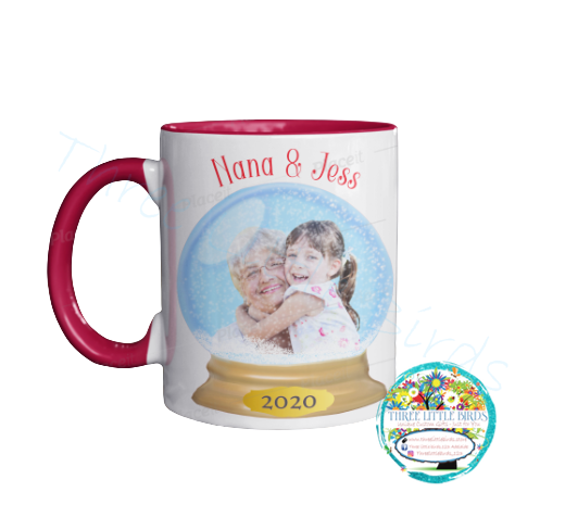 Snow Globe Family & Friends Mug