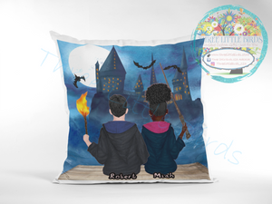 Wizards! Boy & Girl Designs Cushions - Many elements to choose from!