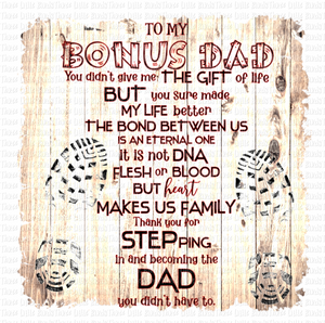 Bonus Dad - Step Dad Mug