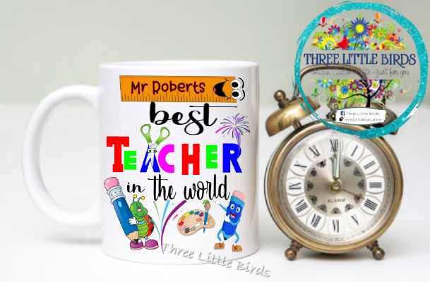 Best Teacher in the World 2 Mug