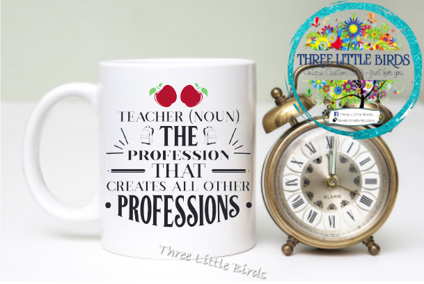 Teacher (Noun) Mug