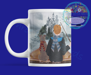 Wizards! Boy & Girl Designs Mugs - Many elements to choose from!