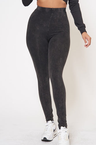 BASIC MINERAL WASH LEGGINGS