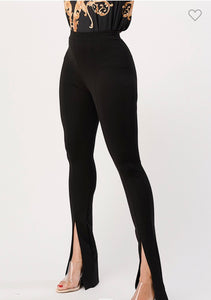 FRONT SPLIT LEGGINGS