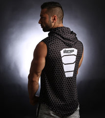 PowerArmour Hoodied Vest Black
