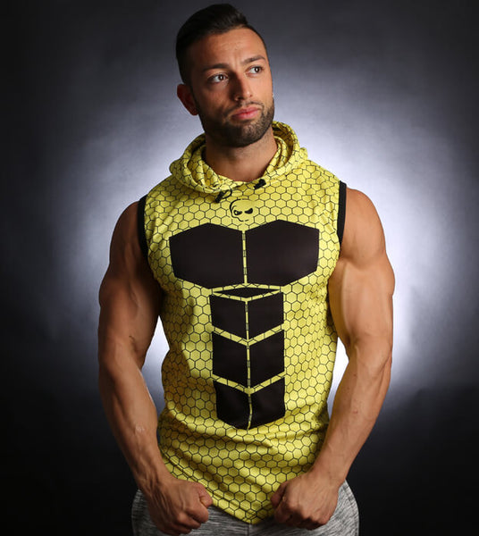PowerArmour Hoodied Vest RadioActive