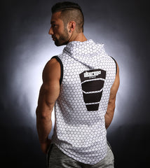 PowerArmour Hoodied Vest White