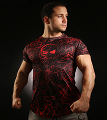 Recharge T-Shirt Red Electric