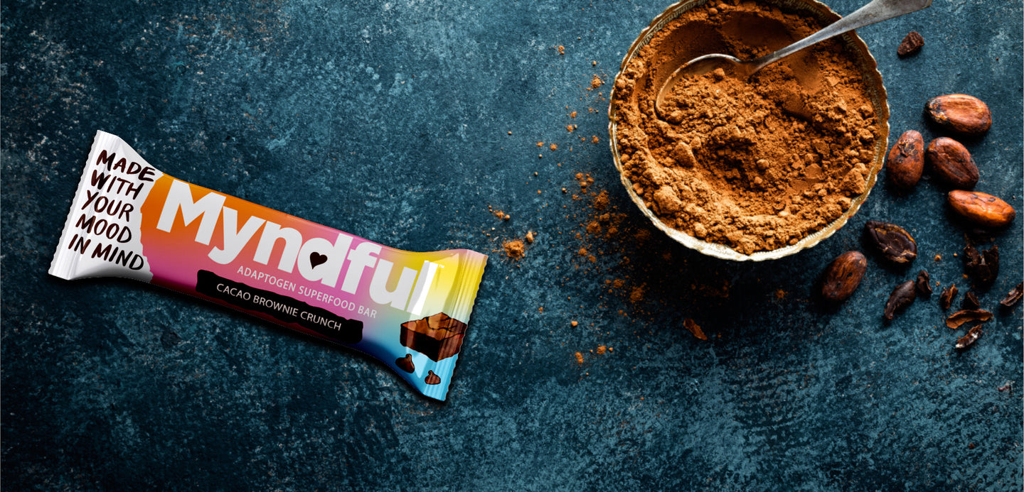 A nutrition bar formulated to reduce stress and improve focus.