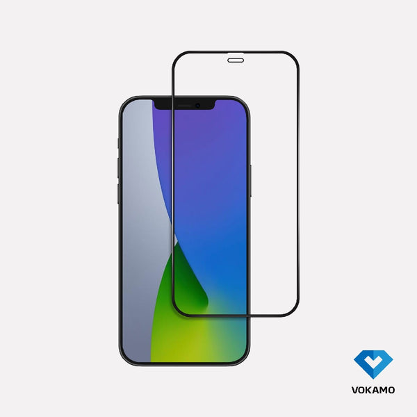 VOKAMO Ocover Resin AntiBacterial Glass (3D Resin) - for iPhone 12/12Pro