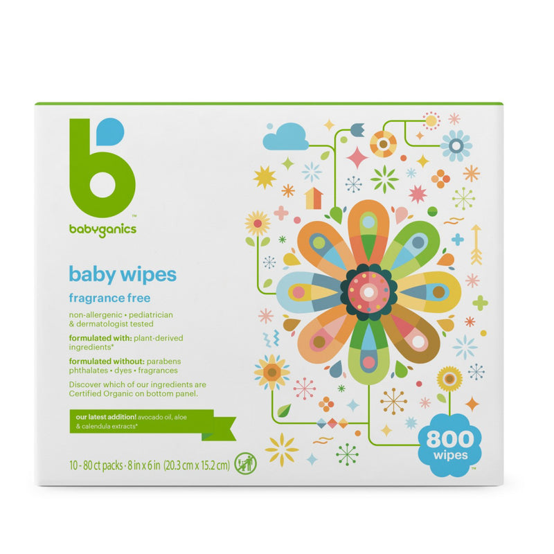 Baby Wipes (Nourishing Seed Oil) 80s